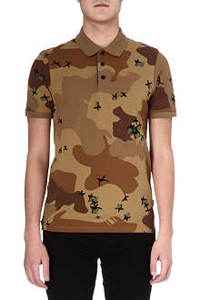 G STAR Joakim camo polo shirt