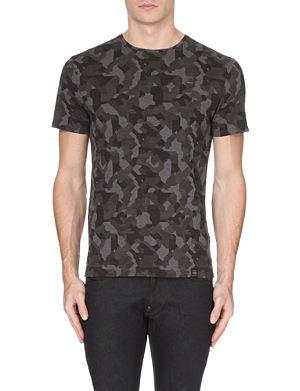 G STAR Camo jersey t-shirt