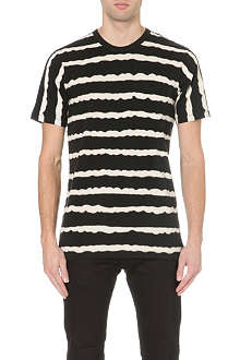 G STAR Stripe print t-shirt