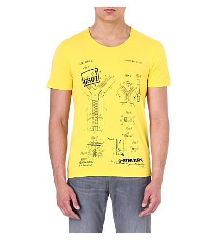 G STAR Graphic-print t-shirt (Citro