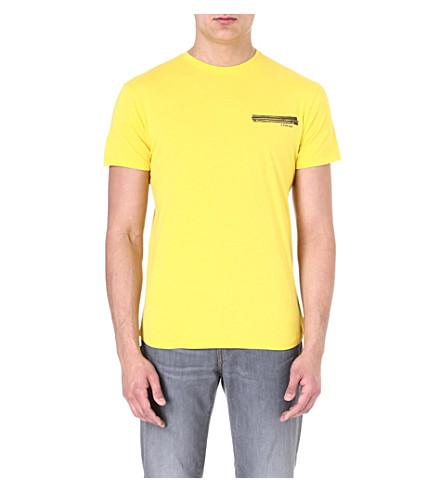 G STAR Zip-print t-shirt (Ciro
