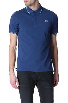 G STAR Stripe-tipping polo shirt