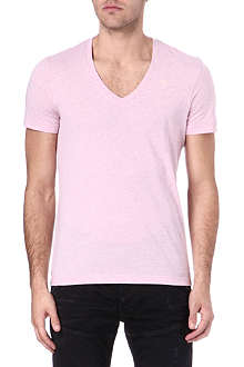 G STAR Two pack v-neck cotton-blend t-shirts