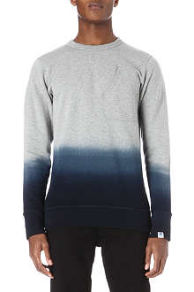 G STAR Ombré round neck sweatshirt