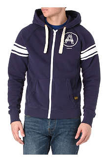 G STAR Zip-up fleece-lined hoody