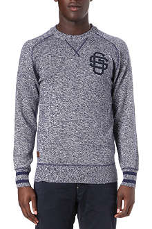G STAR Deck knit long-sleeve jumper