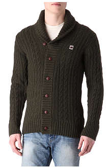 G STAR RCT New Borre shawl-collar cardigan