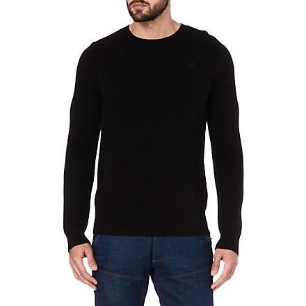 G STAR New Yard knitted jumper (Black