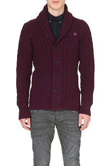G STAR Cable-knit cardigan