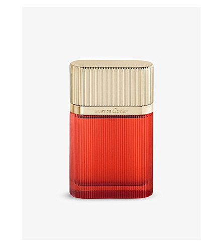 CARTIER MUST de Cartier Gold eau de parfum 50ml