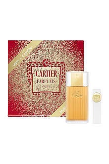 CARTIER Must de Cartier eau de toilette 100ml gift set