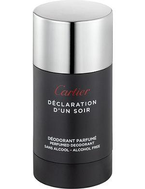 CARTIER Déclaration d'un Soir deodorant stick 75ml
