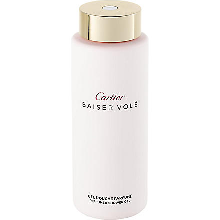CARTIER Baiser Volé shower gel