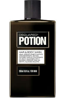 D SQUARED Potion For Man hair & body wash 200ml