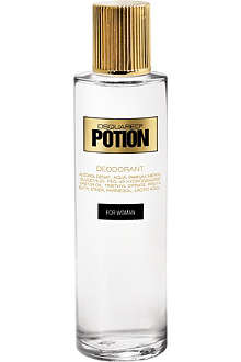 D SQUARED Potion For Woman natural deodorant spray 200ml