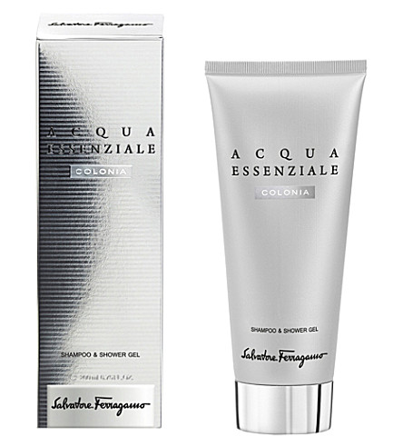 FERRAGAMO Acqua Essenziale Colonia Shampoo & Shower Gel 200ml
