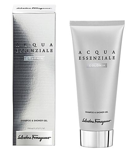 FERRAGAMO Acqua Essenziale Colonia Shampoo & Shower Gel 200ml