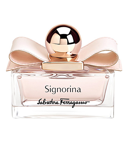SALVATORE FERRAGAMO - Signorina eau de parfum leather edition 50ml ...