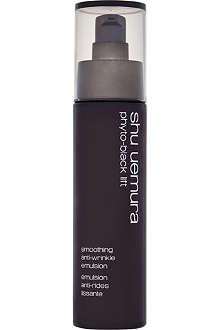 SHU UEMURA Phyto–black lift smoothing anti–wrinkle emulsion 75ml