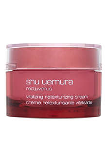 SHU UEMURA Red:juvenus revitalising retexturising cream 50ml