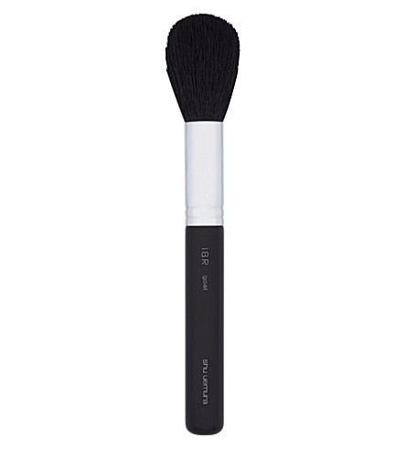 SHU UEMURA Natural face brush 18R - black