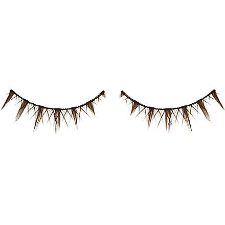 SHU UEMURA Brown cross false eyelashes