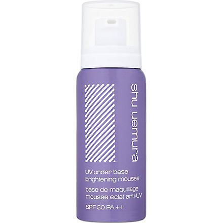 SHU UEMURA UV under base brightening Mousse