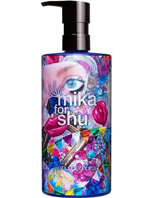 SHU UEMURA Brightening cleansing oil: Mika Ninagawa 450ml