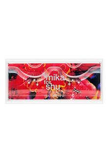 SHU UEMURA False eyelashes: Mika Ninagawa