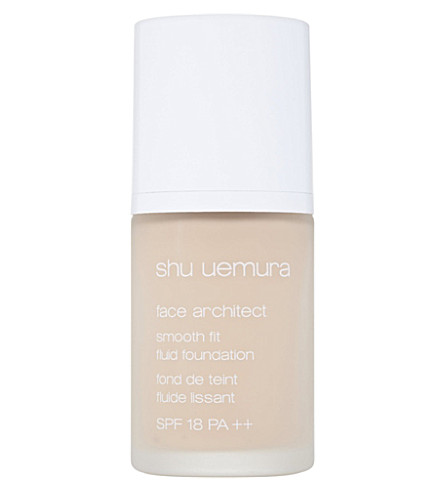SHU UEMURA Face Architect smooth fit fluid foundation (375