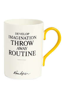 SELFRIDGES SELECTION Develop Imagination Heritage mug