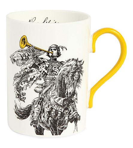 SELFRIDGES SELECTION Horn Blower Heritage mug