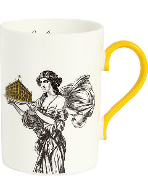 SELFRIDGES SELECTION Lady and Store Heritage mug