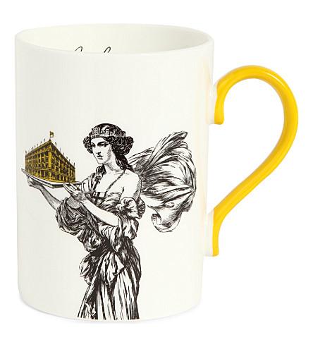 SELFRIDGES SELECTION Lady and Store Heritage mug