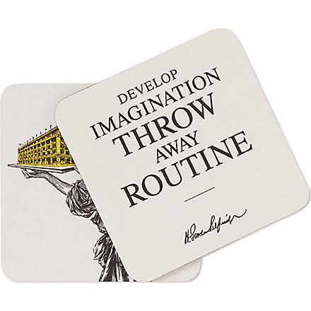 SELFRIDGES SELECTION Heritage coasters