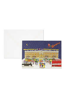 SELFRIDGES SELECTION Pack of 10 Selfridges Christmas cards