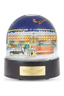 SELFRIDGES SELECTION Selfridges snowglobe