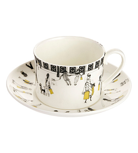 MAKERS FOR SELFRIDGES Charlene mullen china cup and saucer