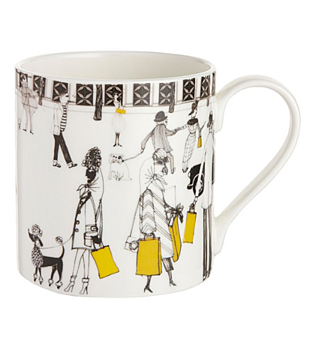 MAKERS FOR SELFRIDGES Charlene mullen china mug