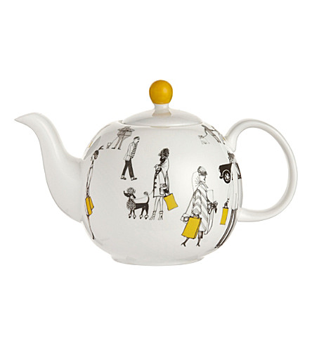 MAKERS FOR SELFRIDGES Charlene mullen china teapot
