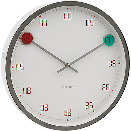 Magic hands wall clock