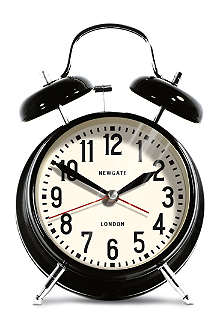 NEWGATE London medium alarm clock