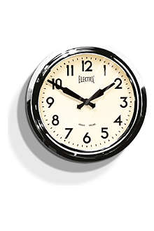 NEWGATE 50's clock polished aluminium