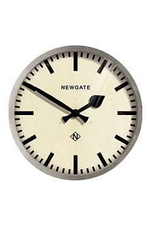 NEWGATE Putney weathered metal wall clock