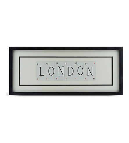 VINTAGE PLAYING CARDS London frame