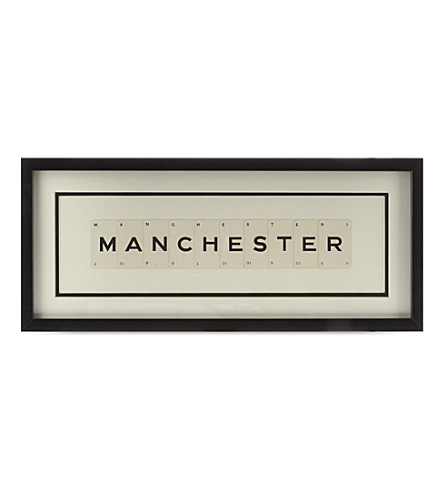 VINTAGE PLAYING CARDS Manchester frame