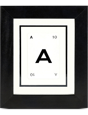 VINTAGE PLAYING CARDS Initial frame - A