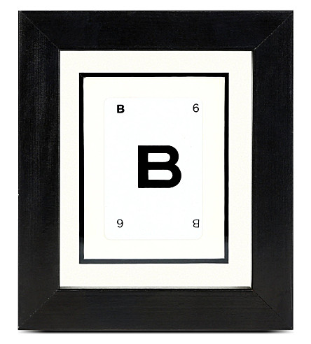 VINTAGE PLAYING CARDS Initial frame - B