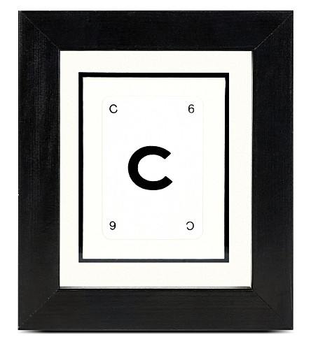VINTAGE PLAYING CARDS Initial frame - C