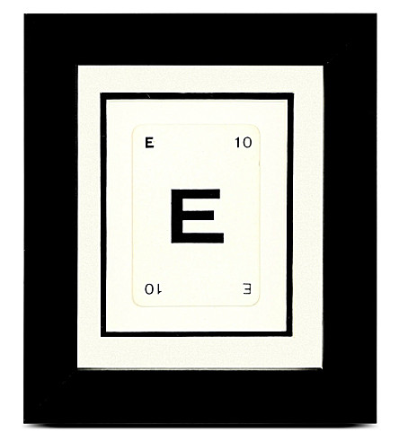 VINTAGE PLAYING CARDS Initial frame - E